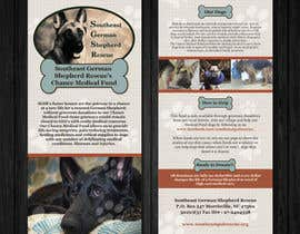 #4 for Design a Brochure for Southeast German Shepherd Rescue's Chance Medical Fund af Mimi214