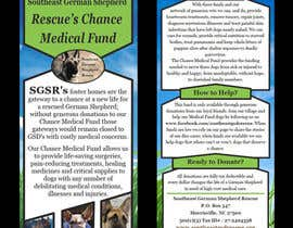 #15 for Design a Brochure for Southeast German Shepherd Rescue's Chance Medical Fund af ABdonna