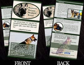 nº 4 pour Design a Brochure for Southeast German Shepherd Rescue's Phoenix Dog Program par gabrielasaenz