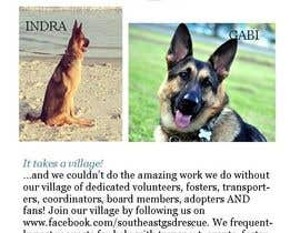 #2 para Design a Brochure for Southeast German Shepherd Rescue por beth59