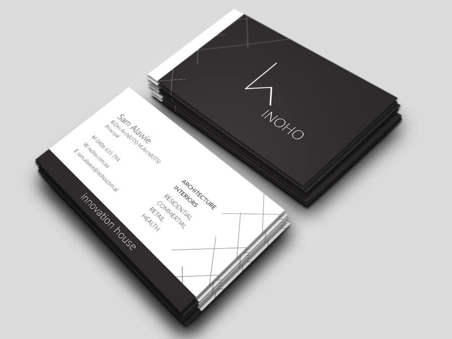 Entry #13 by itsr22 for architect logo design - business cards ...