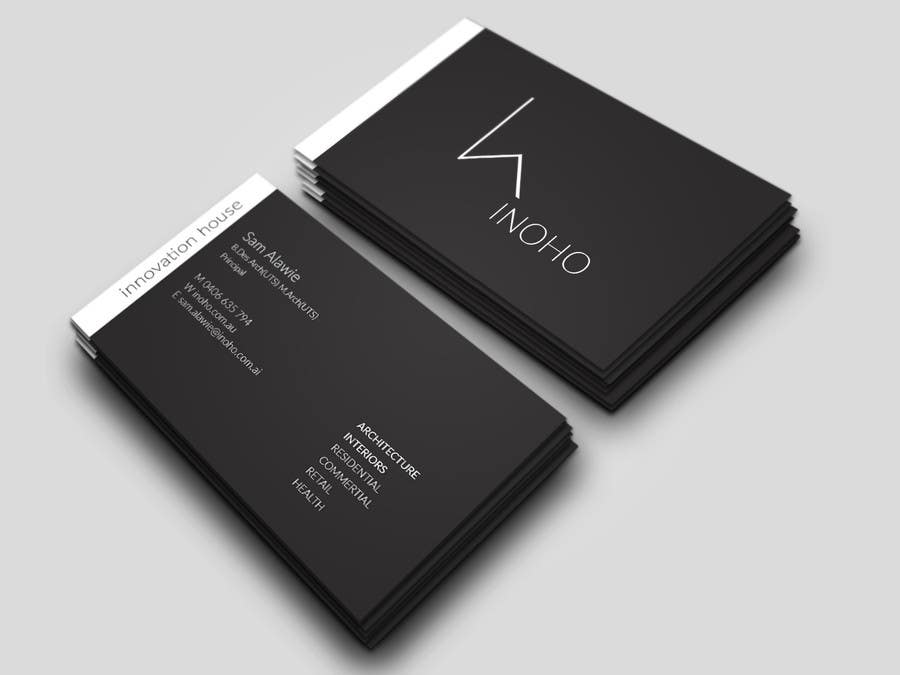 contest entry 25 for architect logo design business cards 4 - Architect Business Card