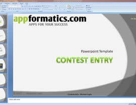 #12 para Develop a Powerpoint Template por michaelinglis