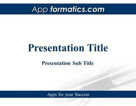 #24 para Develop a Powerpoint Template por shankar111222