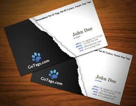#30 para Business Card Design for GoTags.com LLC por StrujacAlexandru
