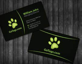 #39 for Business Card Design for GoTags.com LLC af topcoder10