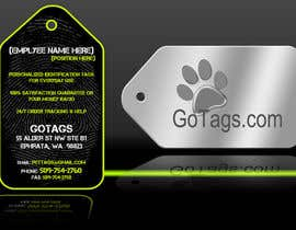 #13 para Business Card Design for GoTags.com LLC por Baddestboots