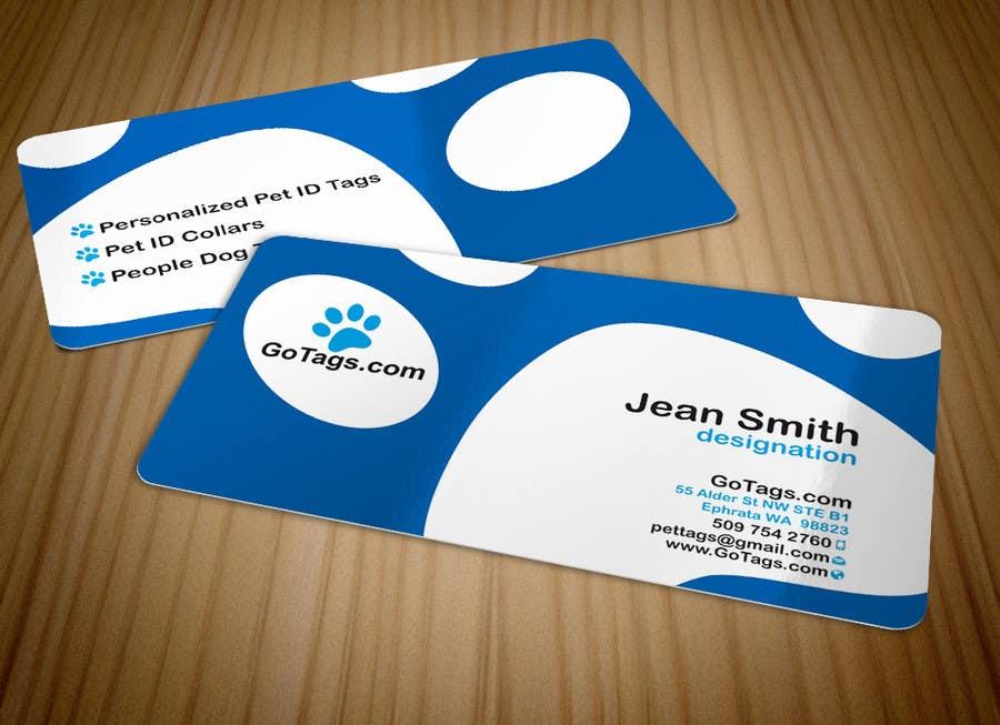 Bài tham dự cuộc thi #                                        56                                      cho                                         Business Card Design for GoTags.com LLC