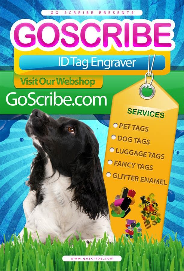 Contest Entry #17 for Brochure Design for GoScribe.com LLC