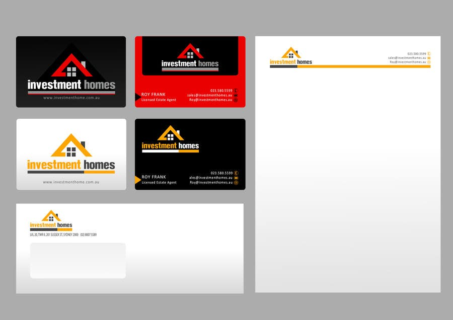 #52 for Logo and Business Card Design by catalinorzan