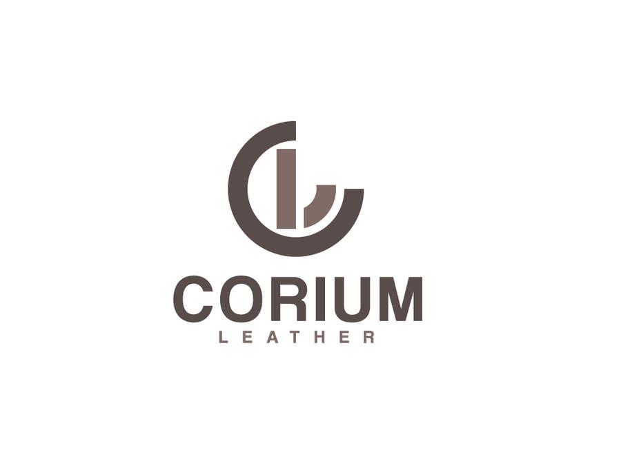 Penyertaan Peraduan #                                        168                                      untuk                                         Design a Logo for Corium Leather