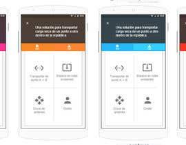 #18 for en- carga app mock up contest by bezil