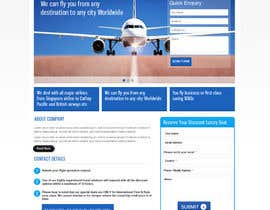 #16 para Design a first class flights website. need php and html por dilip08kmar