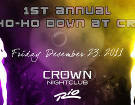 #2 para Easy Quick Facebook Graphic Design for Crown Nightclub Las Vegas por smjakkan