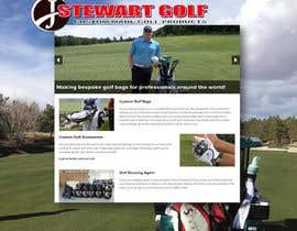 nº 17 pour Design a Twitter background for JStewartgolf par Salimaldeen