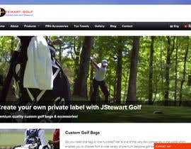 #12 untuk Design a Twitter background for JStewartgolf oleh abhijeet2405