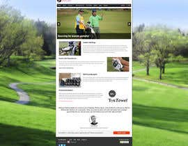 #8 para Design a Twitter background for JStewartgolf por kosmarberlin