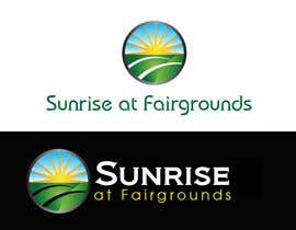 designerartist tarafından Design a Logo for Sunrise at Fairgrounds için no 19