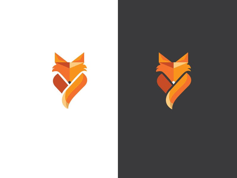 69 for Logo Design - Simplistic Fox Design by burhansultan