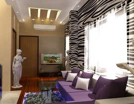 #28 untuk 3D design with photo quality for house - exterior and interior oleh debjit3d