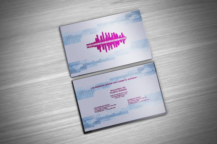 Entry 26 By Autocadchef For Cosmetic Practice Business Card