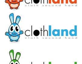 #19 para Diseñar un logotipo para empresa retail online ropa nombre y personaje cartoon por lozano312