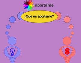 nº 23 pour Diseñar un logotipo que diga APORTAME , el sitio web sera aporta.me par Apophis91