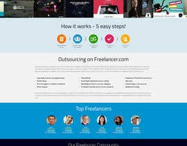 #10 for Freelancer.com Landing Page Design - High Conversion Webpage Design by snali