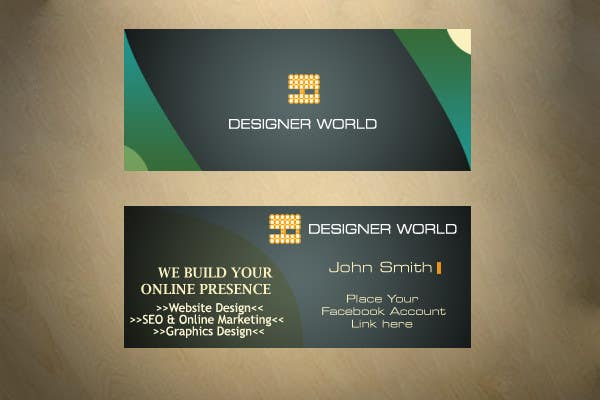Konkurrenceindlæg #655 for Top business card designs - show off your work!