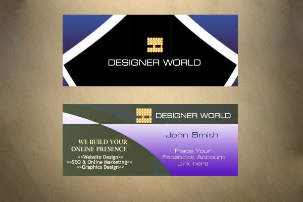 Konkurrenceindlæg #694 for Top business card designs - show off your work!