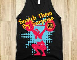 #18 para Design a CrossFit Themed T-Shirt for us por mckirbz