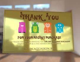 #30 for Design a one side voucher for AQUASKIN... af rogeriolmarcos