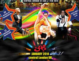 #19 para Stars Of Salsa '14 - The UK Latin Dance Festival por MagicalDesigner