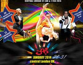 #23 para Stars Of Salsa '14 - The UK Latin Dance Festival por MagicalDesigner