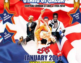 #36 para Stars Of Salsa '14 - The UK Latin Dance Festival por MagicalDesigner
