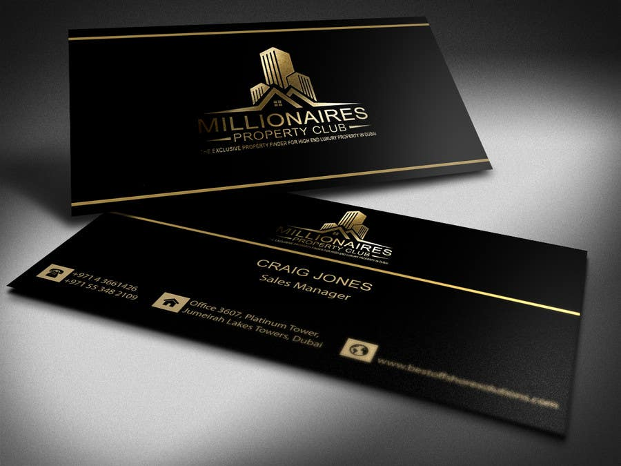 Entry #5 by shahdj39 for Design some Business Cards for my real ...