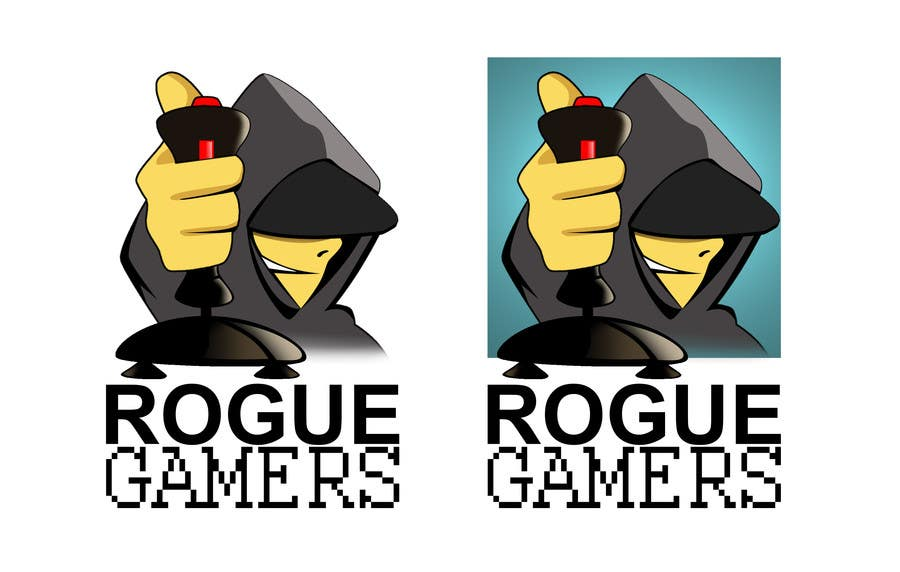 Kilpailutyö #                                        51                                      kilpailussa                                         Design a Logo for rogue-Gamers