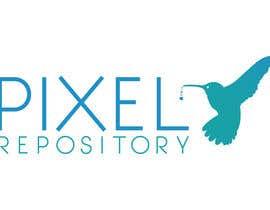"""#46 para Logo for New Website """"Pixel Repository"""" por SabreToothVision"""