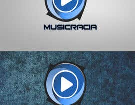 #80 for Design a Logo for Musicracia af sreesiddhartha