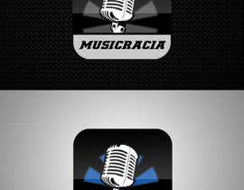 #94 for Design a Logo for Musicracia af sreesiddhartha