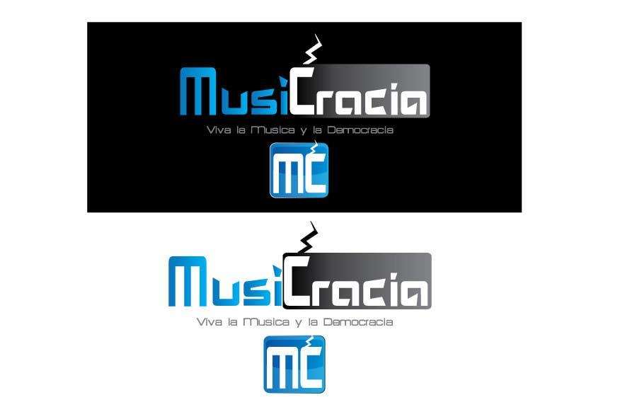Kilpailutyö #                                        25                                      kilpailussa                                         Design a Logo for Musicracia