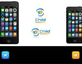 #80 untuk Design a Logo for mobile App (Child Support) oleh blueprint1101
