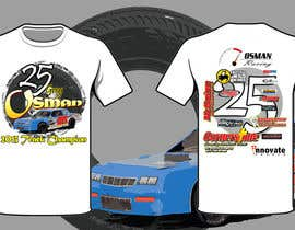 nº 33 pour Design a T-Shirt for Osman Racing par ehab288