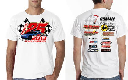 #28 for Design a T-Shirt for Osman Racing by eltorozzz