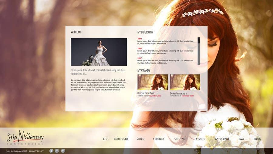 Inscrição nº 11 do Concurso para Design a Website Mockup for a Photographer
