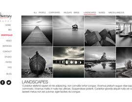 #5 para Design a Website Mockup for a Photographer por reginayanzon
