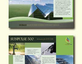 #1 for design of a brochure. autarkic energie. solar by UmeSake