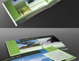 #8 for design of a brochure. autarkic energie. solar by UmeSake