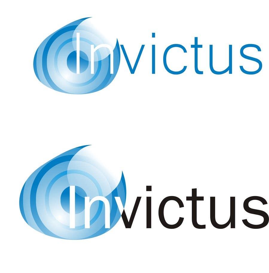 """Kilpailutyö #                                        22                                      kilpailussa                                         Design a Logo for my business group """"Invictus"""""""