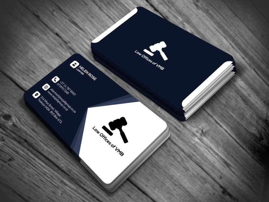 Entry #23 by nasir34 for Business Cards for an American Law
